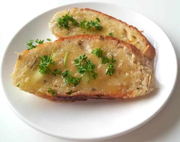 Bruschetta met gorgonzolaboter