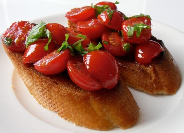 Bruschetta tomaat