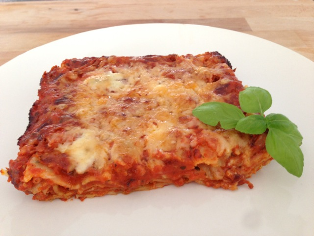 Lasagne met gorgonzola
