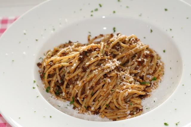 Spaghetti met gehakt