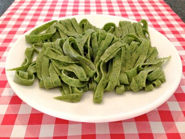 Spinazie pasta