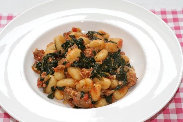 Gnocchi met spinazie