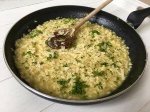 Basisrecept risotto - Risotto alla Parmigiana