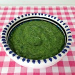 Basilicum pesto met walnoot