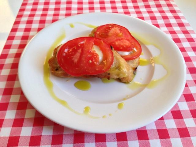 Bruschetta tomaat mozzarella