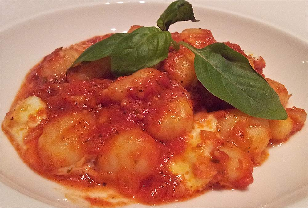 Gnocchi met tomatensaus