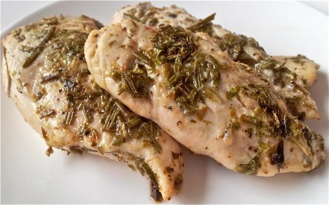Italiaanse gemarineerde kip