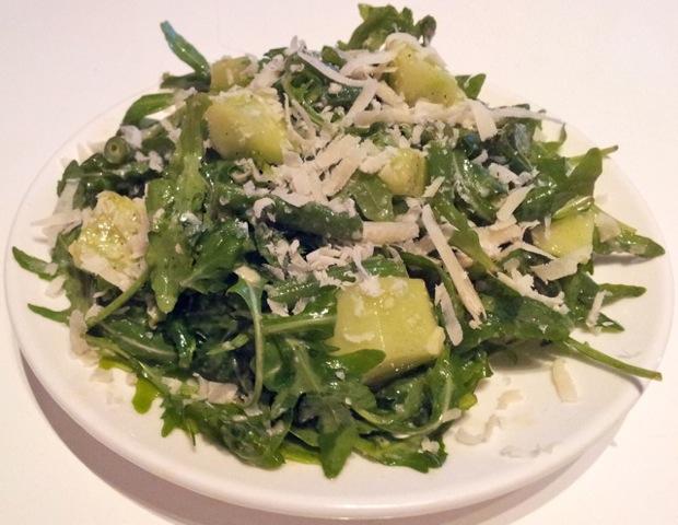 Italiaanse groene salade