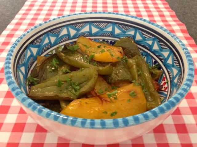 Paprika uit de oven