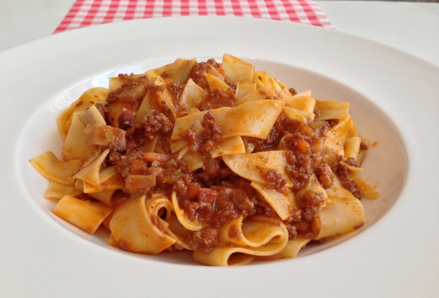 Pasta Ragu Bolognese