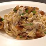 Pasta champignons
