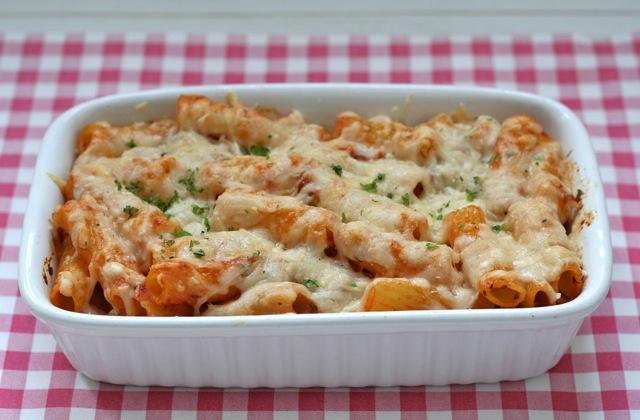 Pasta ovenschotel met gehakt