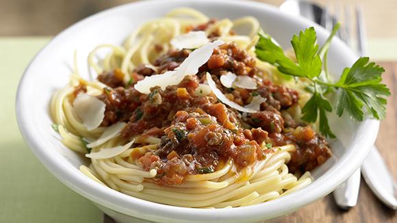 Spaghetti met Bolognesesaus