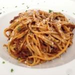 Spaghetti met stoofvlees
