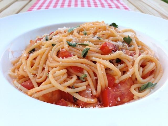 Spaghetti tomaat