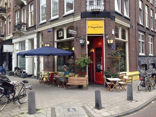 Italiaans restaurant Amsterdam - L'Angoletto