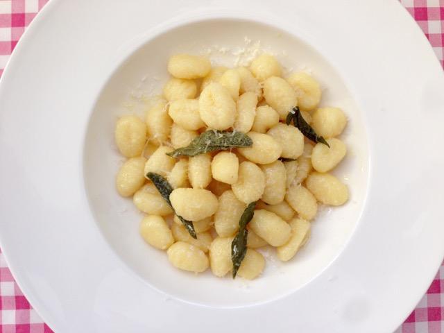 Gnocchi Burro Salvia e Parmigiano