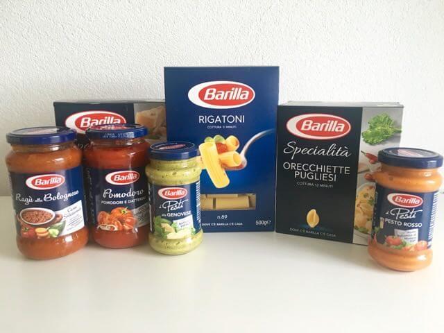 Barilla - Pasta, pesto en pastasaus