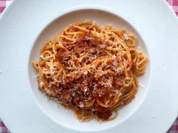 Snelle en simpele spaghetti
