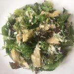 Salade met artisjok en Parmezaanse kaas