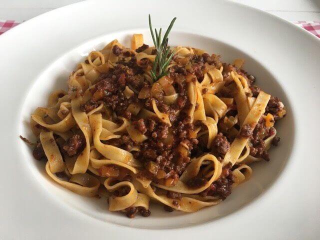 Tagliatelle al Ragu Toscano - Tagliatelle recept