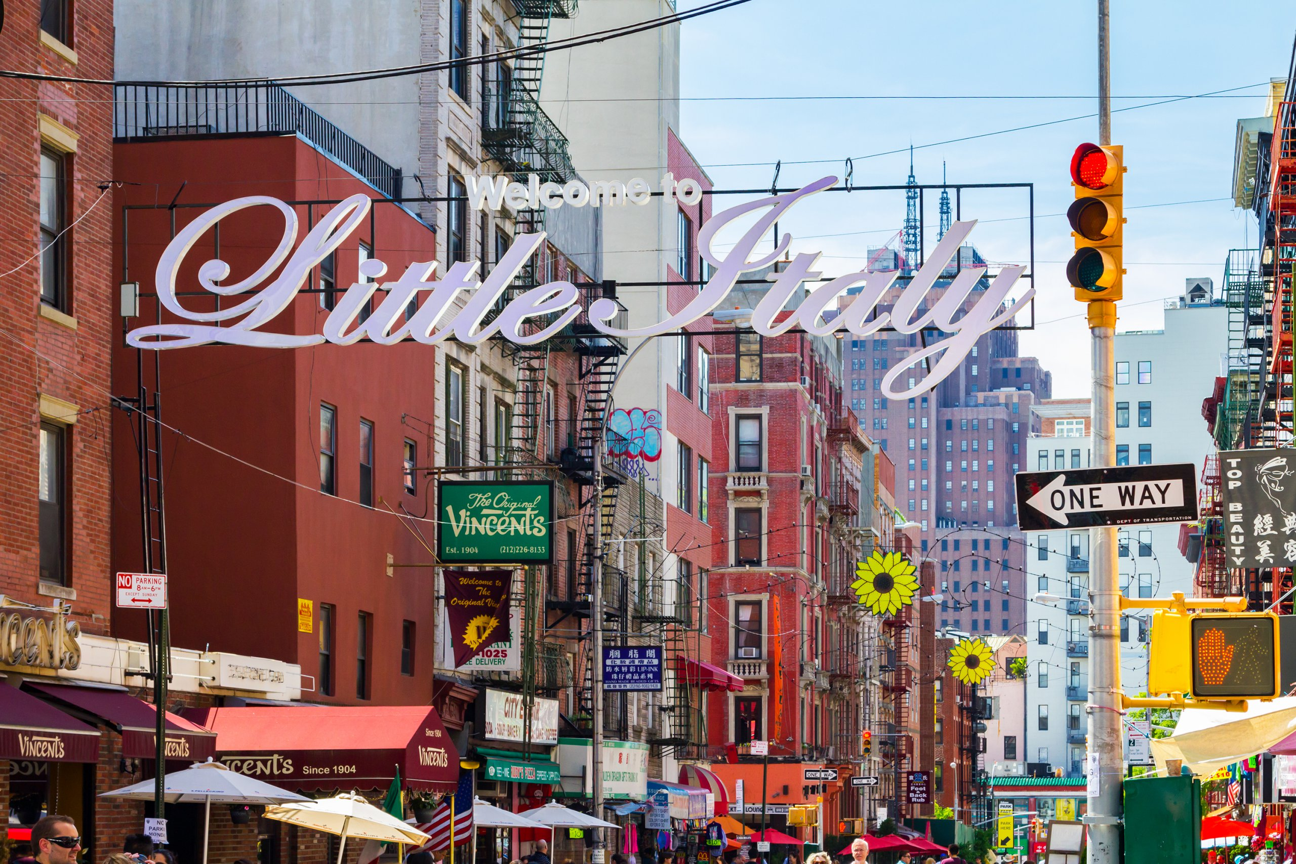 Little Italy NYC - 5x Italiaans eten